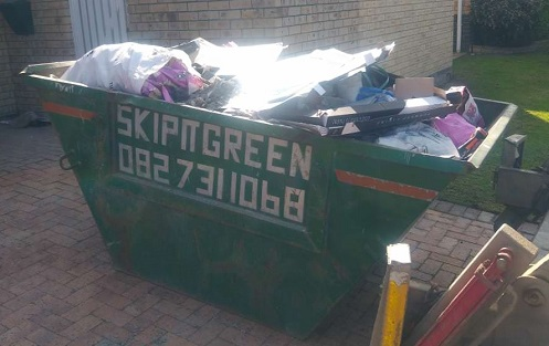 junk removal cape town for a local home